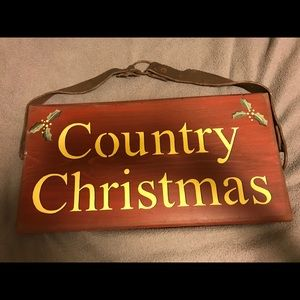 Other - Rustic Christmas Sign